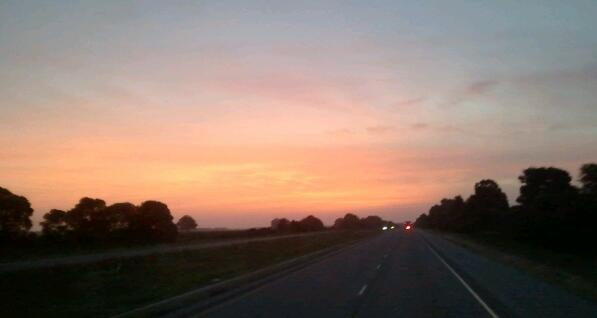 Closure: Sunset on the Road